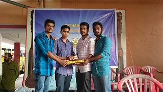 Winners - S1 MBA Students (2014-16) - District Yoga Competition